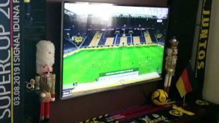 De Ferraz de Vasconcelos, torcedor do Borussia Dortmund acompanha retomada da Bundesliga