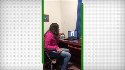 Flamenguista surpreende namorada tricolor com vídeo do Fred; veja a reação