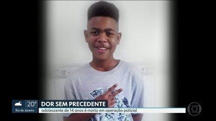 Adolescente de 14 anos é morto em operação policial no Salgueiro, em São Gonçalo