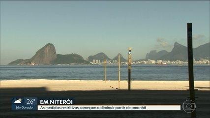 Começa amanhã a redução das medidas restritivas de Niterói