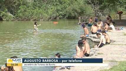 Atividades turísticas voltarão a funcionar em Bonito