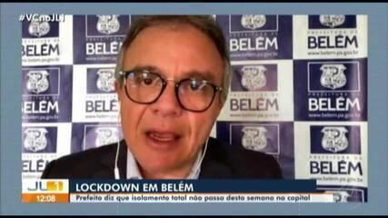 Zenaldo Coutinho esclarece sobre retorno das atividades em Belém