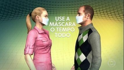 Coronavírus: uso de máscara reduz risco de transmissão da Covid-19