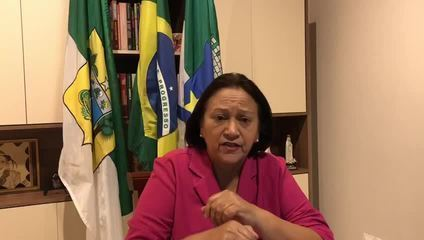 Governadora do RN cobra sanção imediata de auxílio financeiro a Estados e Municípios