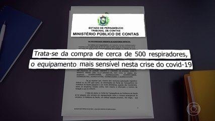 MPCO questiona compra de respiradores para pacientes com Covid-19 no Recife