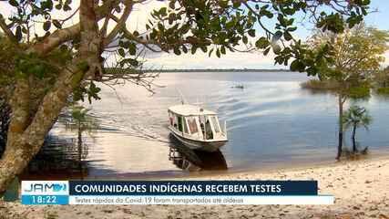 Moradores de três comunidades rurais recebem 200 testes para diagnóstico da Covid-19
