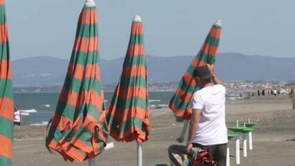 Fim da quarentena na volta do calor preocupa autoridades na Europa