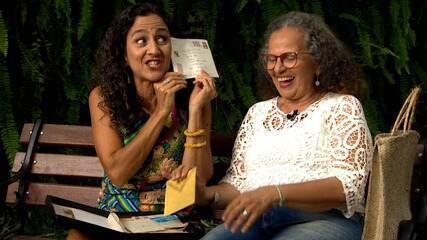 Maria Menezes bate-papo com pessoas que valorizam as cartas escritas à mão