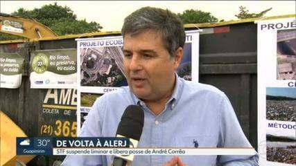 STF derruba liminar que impedia a posse do deputado André Corrêa