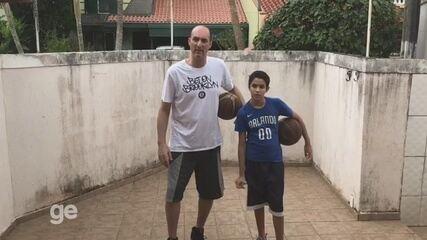 Em vídeo, ex-atleta da seleção brasileira de basquete passa mensagem aos esportistas do AC