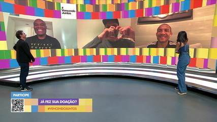 Anderson Silva, Rodrigo Minotauro e José Aldo falam sobre superação na vida e no esporte