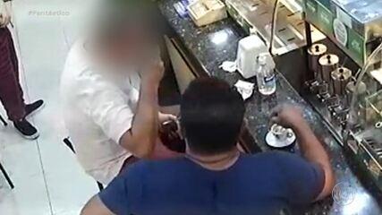 Polícia prende golpista que aplicava 'boa noite, Cinderela' em homens; veja flagrantes