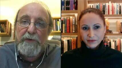 Microbiologista Natalia Pasternak e neurocientista Miguel Nicolelis debatem cloroquina