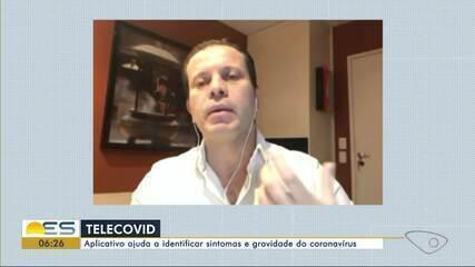 Aplicativo Telecovid ajuda a identificar sintomas e gravidade do corononavírus