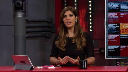 Andréia Sadi: 'Pronunciamento de Maia é uma reação à nota do general Augusto Heleno'