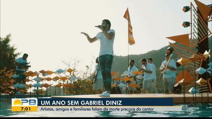 Um ano da morte do cantor Gabriel Diniz