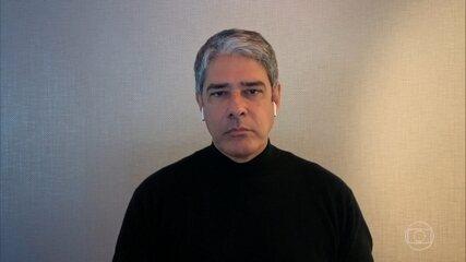 William Bonner e Pedro Bial comentam os constantes ataques à imprensa