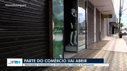 Prefeitura de Goiânia anuncia reabertura de parte do comércio na capital