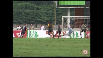 Memória Pai d'Égua: Gian marca gol de cobertura para o Remo sobre o Paysandu, em 2004
