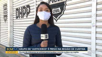 Grupo de justiceiros é preso na região de Curitiba