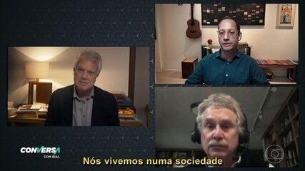 David Quammen e Stevens Rehen dizem que a pandemia não é responsabilidade de um país específico