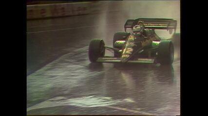 Nigel Mansell bate e abandona o GP de Mônaco de 1984 - Imagens: FOM