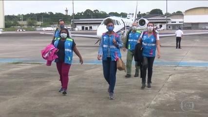 Manaus ganha reforço de novos profissionais de saúde para combater a pandemia