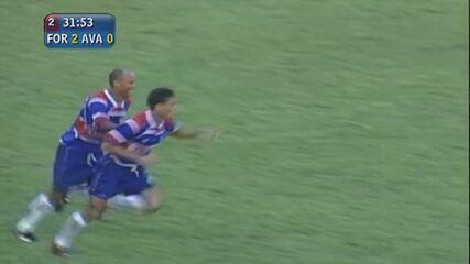 Gol do Fortaleza! Ronaldo Angelim faz o segundo do Leão!
