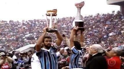Confira os melhores momentos da final do Mundial de 83 entre Grêmio 2x1 Hamburgo
