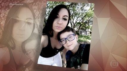 Fantástico mostra imagens da casa em que mãe teria matado filho de 11 anos