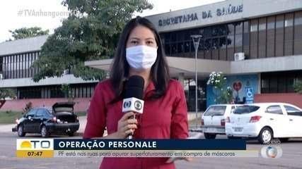 PF apura suposta fraude em contratos para compra de máscaras no valor de R$ 420 mil