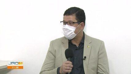 Governador Marcos Rocha fala sobre ações de combate a COVID-19