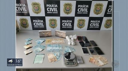 Operação prende 14 pessoas ligadas à organização criminosa de tráfico de drogas em MG e SP