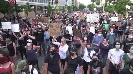 Cenas de violência e confrontos diminuem em Washington nas últimas 24 horas