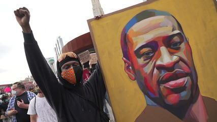 Veja imagens dos nove dias de protestos nos EUA por causa da morte de George Floyd