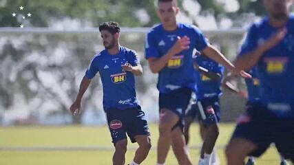 Jogador do Cruzeiro com Covid-19