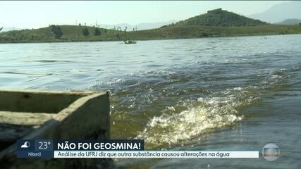 Laudos revelam que não foi a geosmina que causou gosto e cheiro ruins na água do Guandu