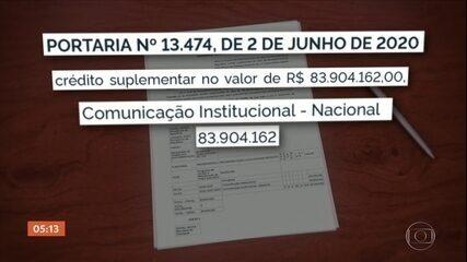Governo Federal transfere recursos destinados ao Bolsa Família para gastos com propaganda