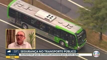 Segurança no transporte público