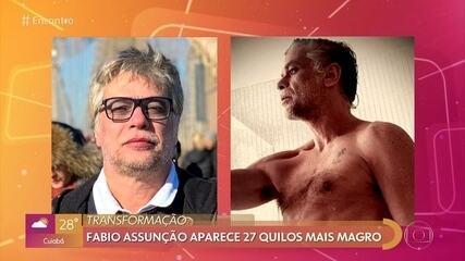 Fabio Assunção emagreceu 27 quilos para novo personagem