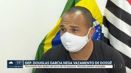 Deputado Douglas Garcia nega vazamento de dados pessoais de ativistas