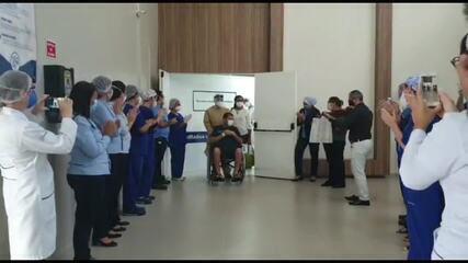 Policial Militar de Alagoas se recupera da Covid-19 e deixa hospital após 40 dias na UTI