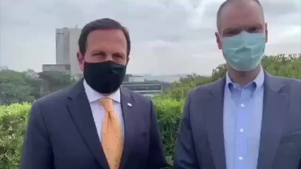 Governador e prefeito de São Paulo repudiam ação de deputados em hospital do Anhembi