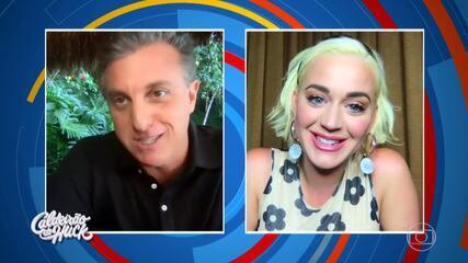 Luciano conversa com Katy Perry e surpreende fã da cantora