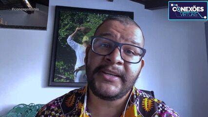 O artista Tiago Sant'ana fala das suas obras, que retratam a violência contra negros