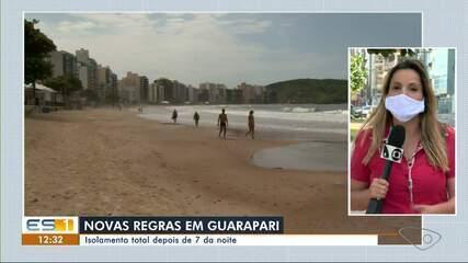 Novas medidas restritivas são iniciadas em Guarapari, no ES