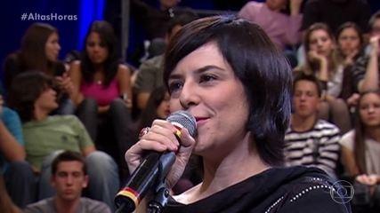 Fernanda Takai canta 'Seja o Meu Céu'