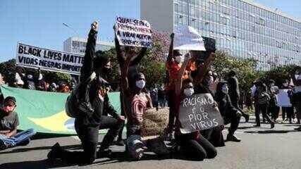 Vinte capitais tiveram atos contra Bolsonaro e a favor da democracia no domingo (7)