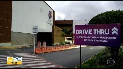 Shoppings de Pernambuco estão liberados para entrega e retirada de produtos