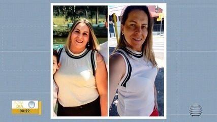 Mulher vence luta contra o sedentarismo e elimina 12kg